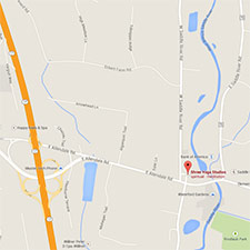 Google Map of Shree Yoga Location